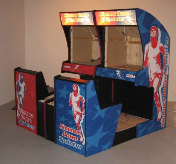 old style arcade machines